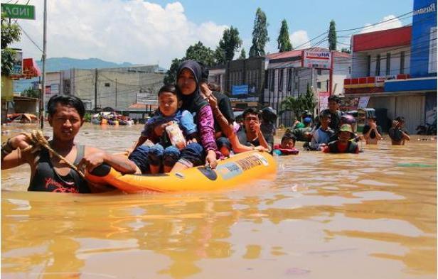 Banjir Kembali Melanda Kabupaten Bandung di Tahun 2016