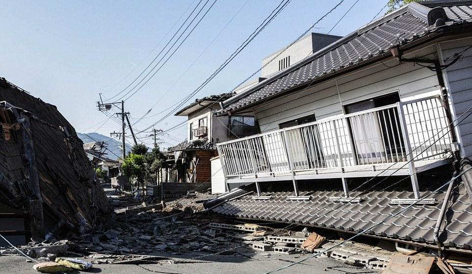 Kembali, Gempa 7,3 SR Mengguncang Perfektur Kumamoto Jepang