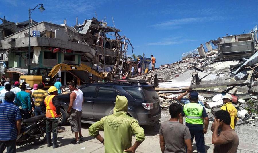 Gempa Dahsyat Magnitudo 7,8 Mengguncang Ekuador, Ratusan Korban Tewas