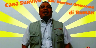 Video : Cara Survive dari Gempa