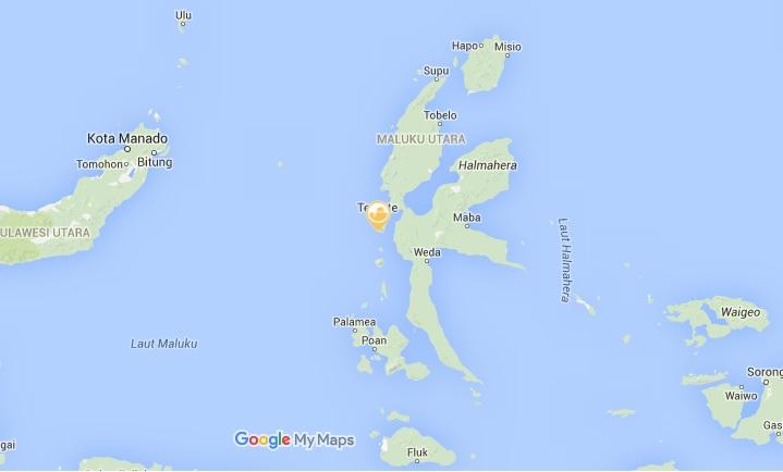 Gempa 6,6 SR Mengguncang Maluku Utara dan Sulawesi Utara