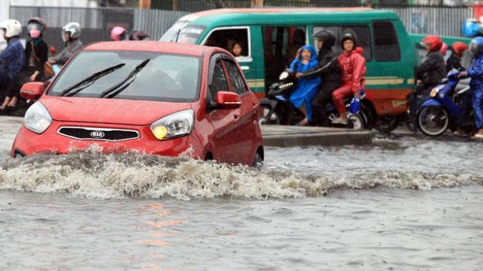 Banjir Disertai Angin Kencang Kembali Terjadi di Bandung, Jawa Barat