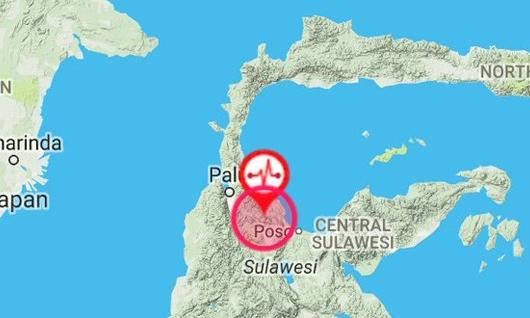 Gempa 6,6 SR Mengguncang Poso, Puluhan Rumah Rusak