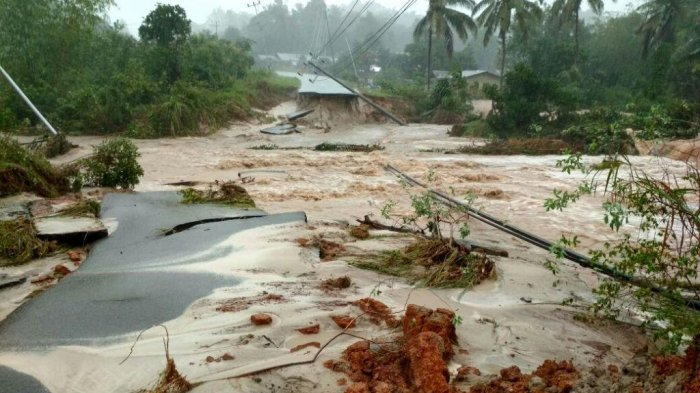 Belitung dan Belitung Timur Terkepung Banjir