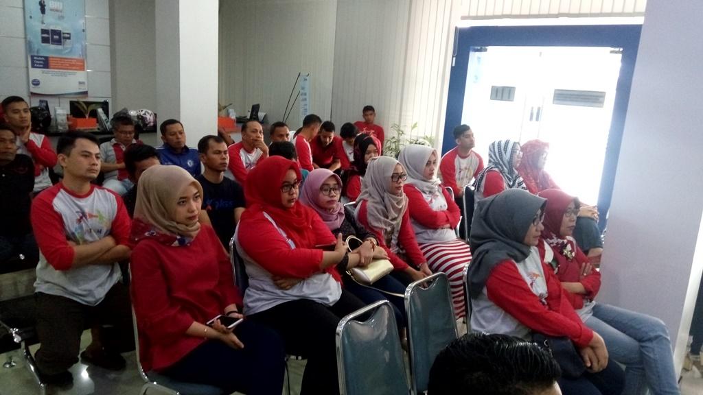 Dedikasi DRR Indonesia dalam Pelatihan PRB Kepada Kantor BRI Cabang Khatib Sulaiman, Padang