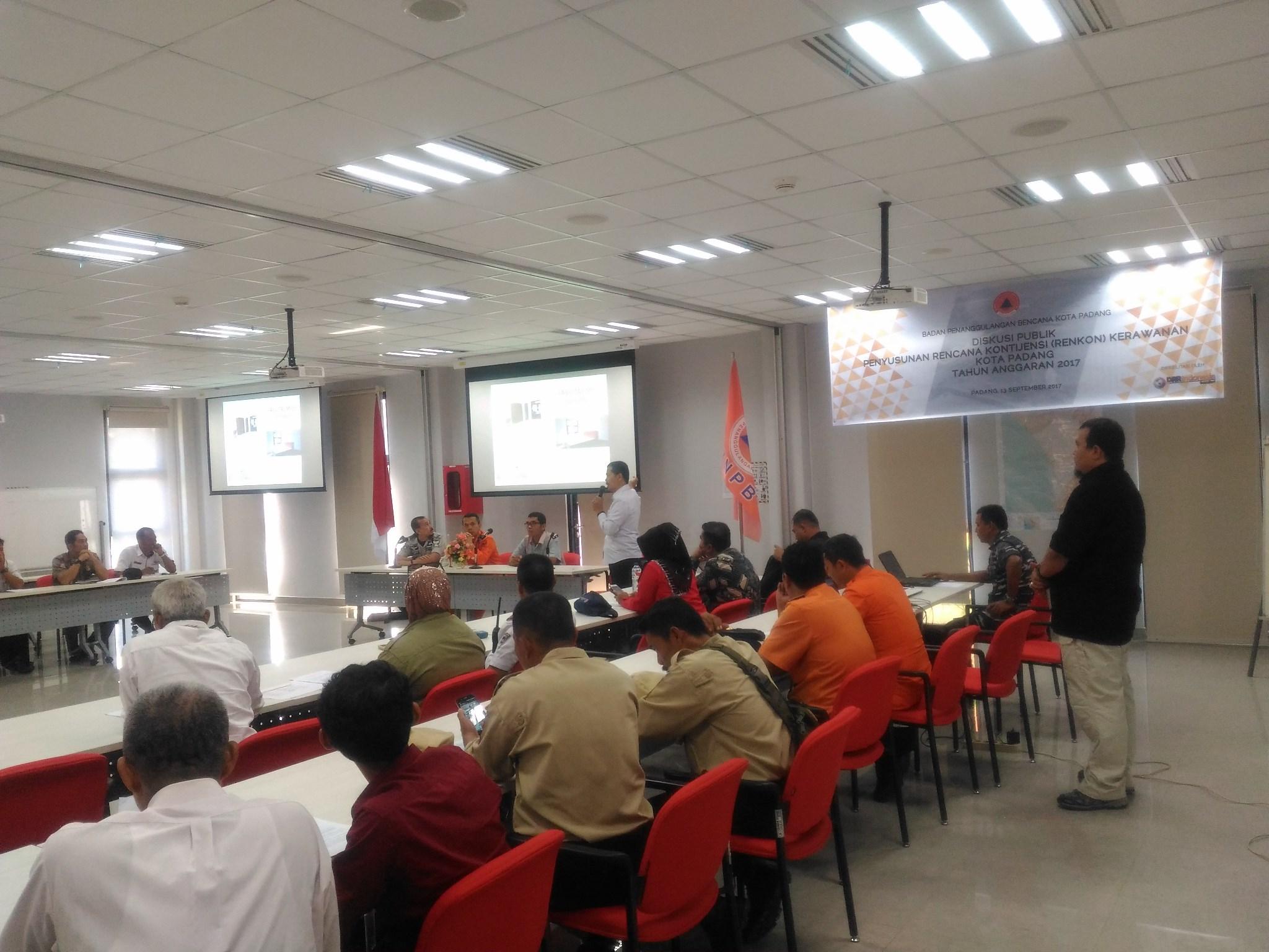 DRRI Indonesia Memfasilitasi Penyusunan Renkon Kerawanan Kota Padang