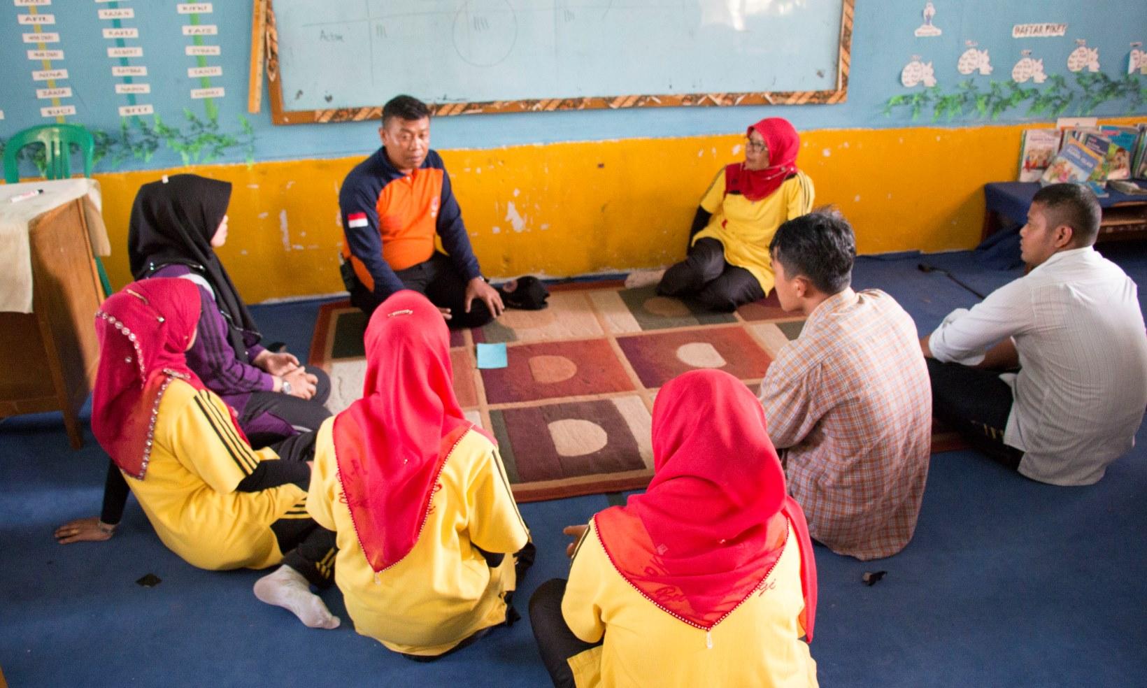 Yayasan Pengurangan Risiko Bencana (YPRB) dalam Pembangunan Sekolah/Madrasah Aman Bencana (SMAB) di Sumatera Barat